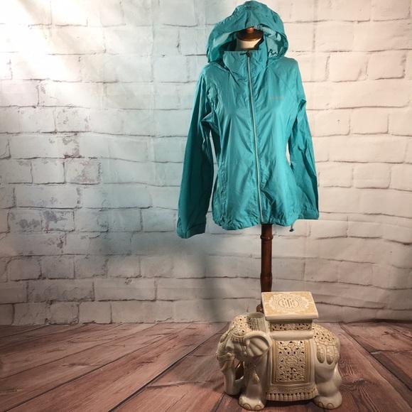Columbia Full Zip Travel Wind Breaker Jacket